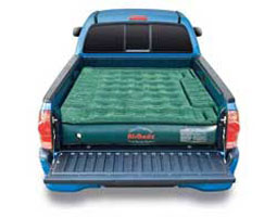 Airbedz lite PPi air mattress for-truck-beds-and-tents with wheel well inserts