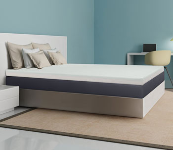 CentriPUR-US certified memory foam topper 4 inch