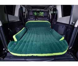 Image of Wolfwill cushion travel SUV and minivan dedicated - green