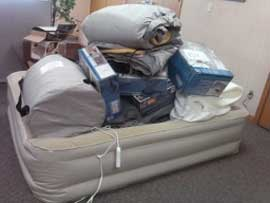 airbed deflating overloaded beyond weight limit