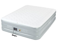 Image of coleman premium pillow top - runner up among beds for heavy people and side sleepers