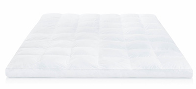 the best mattress topper made of fibre - Lucid Plush