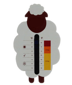 measuring room temperature illustration