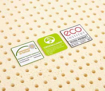 pure green organic latex topper