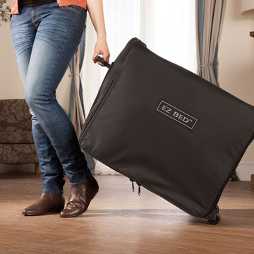serta ez bed packed carry case