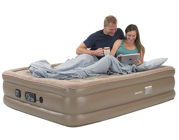 sharing an air mattress