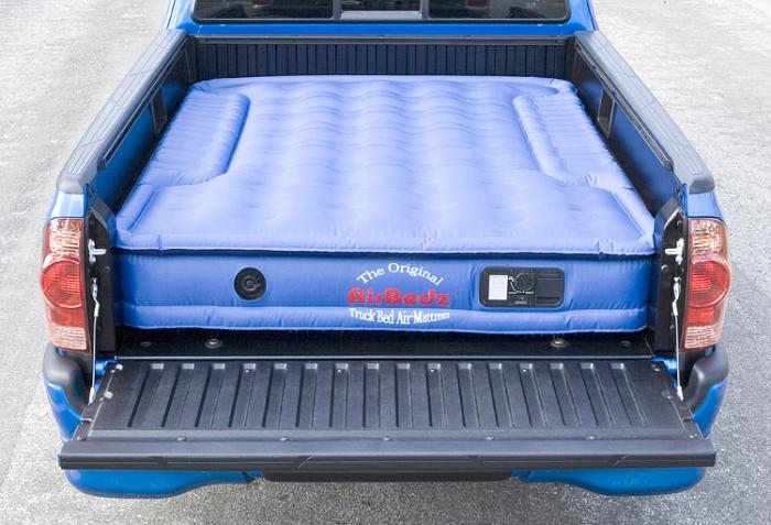 air mattress airbedz original on truck