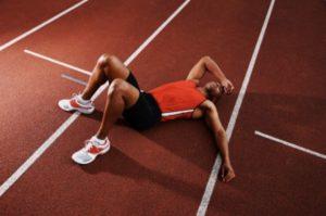 overtrained athlete lack of sleep