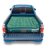 truck bed air mattress green