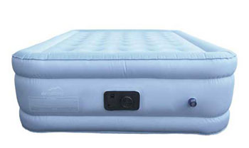 Image Of The Top Pick Among Cta Proof Air Mattresses   Blue Bamboo With  Topper