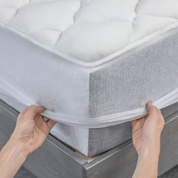 fitting the cooling mattress pad