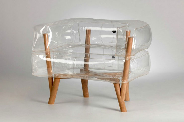 anda modern inflatable chair