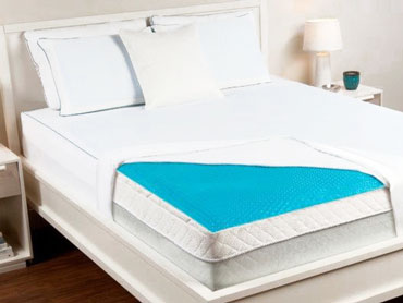 cooling gel mattress pad