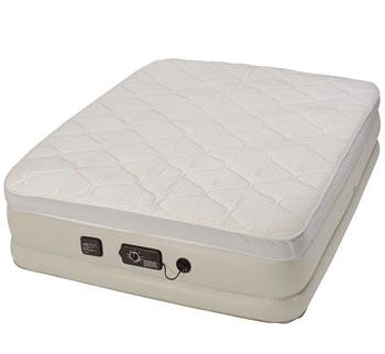 serta raised air mattress with never flat pump