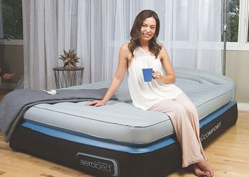 Aerobed Opti-Comfort Queen Air Mattress with Headboard review – 2019 update