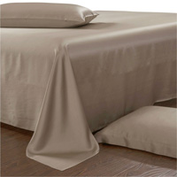 celestial best silk sheet and pillowcase set tan