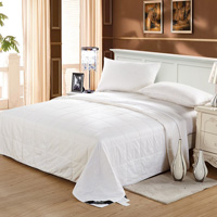lily silk comforter