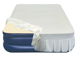 airtek keystone series memory foam air mattress