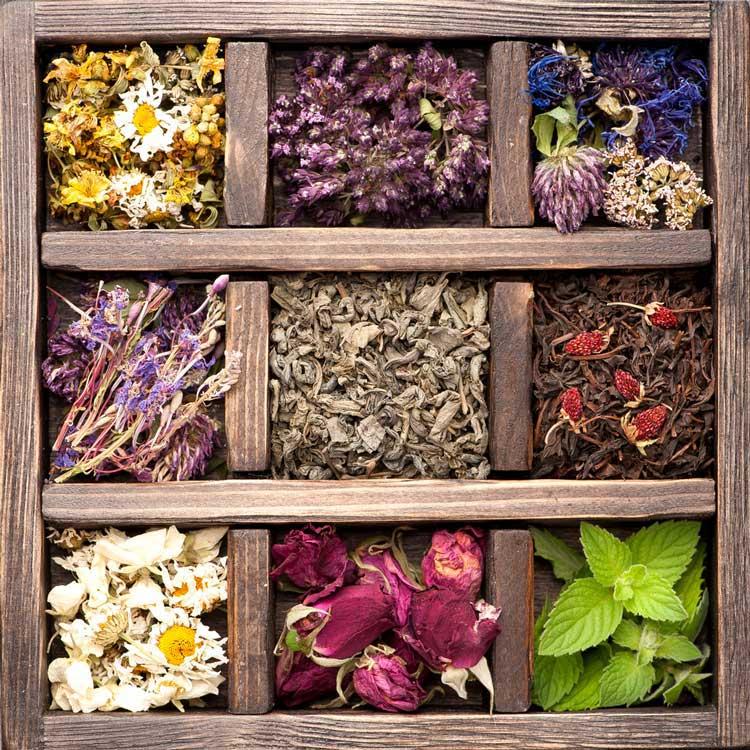 spice rack tea sleep combination