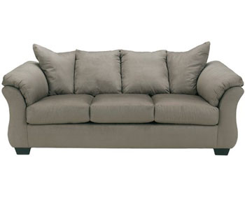 Ashley Darcy Soft Poly Fiber Sofa Second Top Rated Dog And Cat Friednly