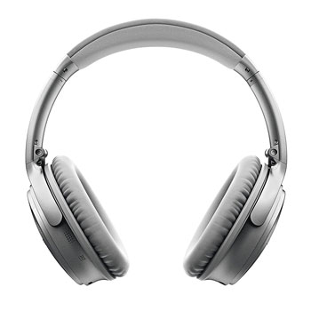 Bose QuietComfort 35 silver front view