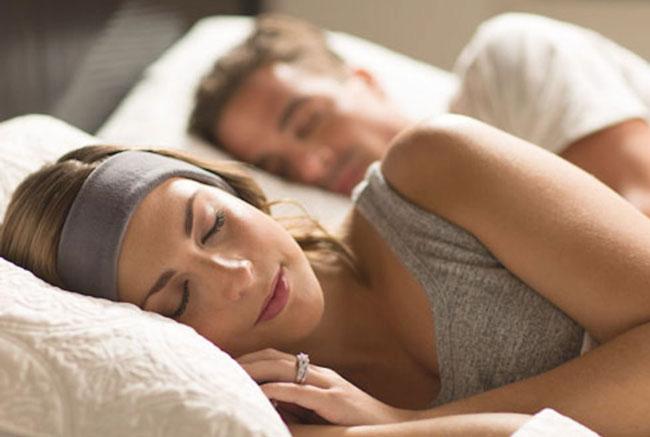 SleepPhones headband couple