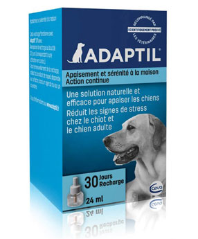 adaptil dog calming diffuser box