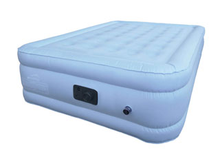blue full air mattress