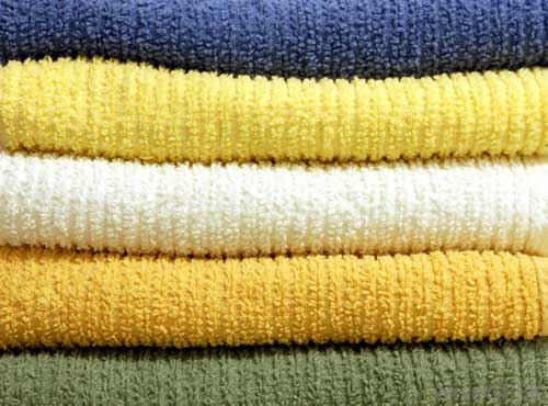 chenille multiple colors fabric