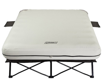 coleman cot air mattress frame for camping