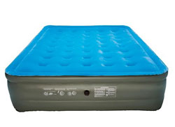 embark blue blow up mattress