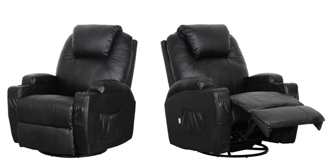 esright - voted best recliner for back pain