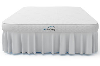 Bamboo topper sky blue - voted best full size air mattress
