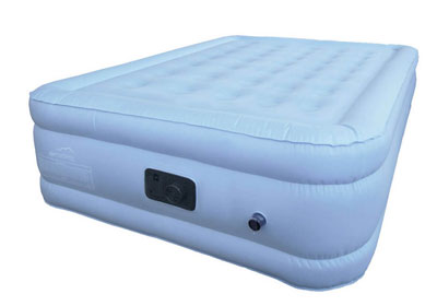 full size airbed blue front view