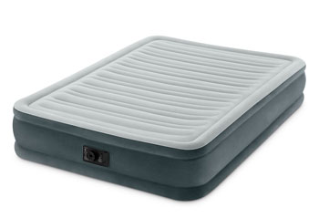intex full air mattress mid rise
