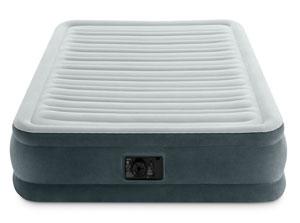 intex full size airbed front profile