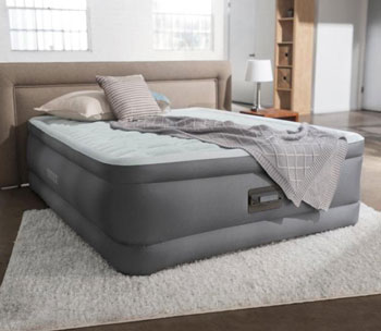intex queen airbed durabeam