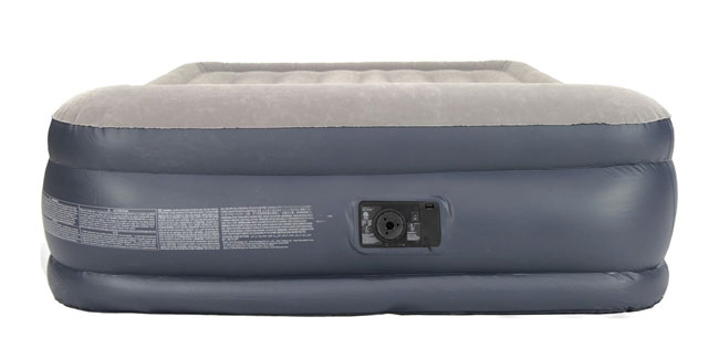 intex queen blow up mattress front