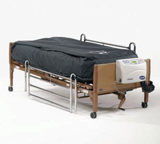 invacare laterral rotation mattress