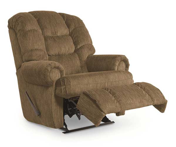 merit brown leather - voted top recliner for sleeping