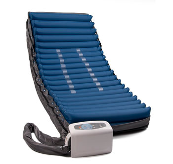 low air loss alternating pressure air mattress with pump