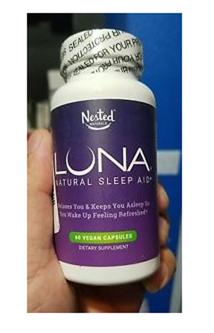 luna front label