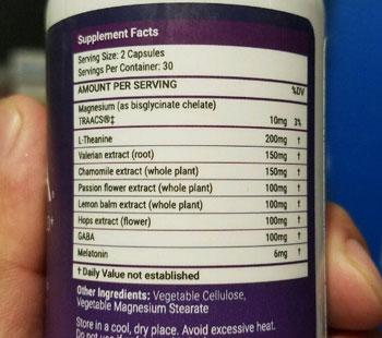luna ingredients