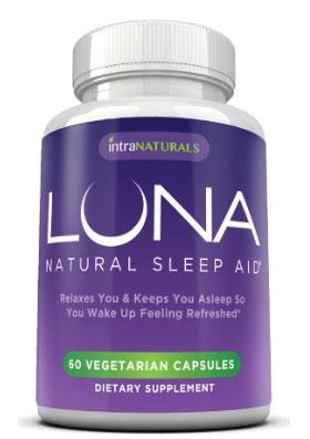 luna sleep close up