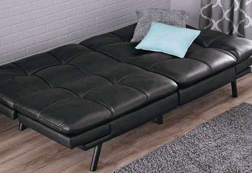 Memory Foam Convertible Futon By Mainstay