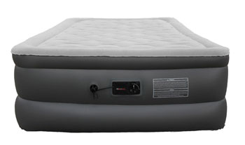 plush high rise full sized airbed by fox