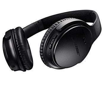 side view of the bose headphones