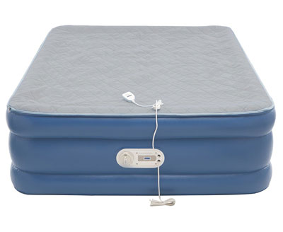 aerobed memory foam inflatable mattress