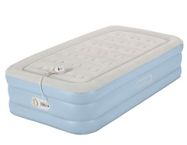 aerobed twin air mattress one touch