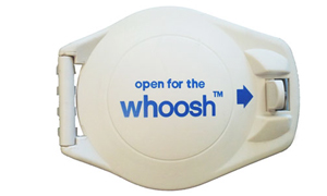 image of teh aerobed whoosh air release valve